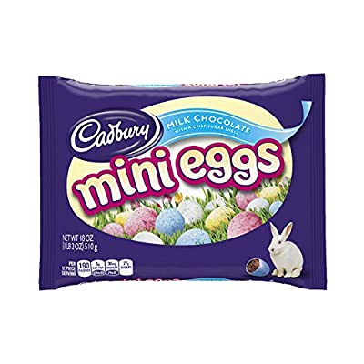 Cadbury Easter Candy Coated Mini Eggs, 18-Ounce Packages (Pack of 3) by Cadbury
