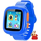 Kids Smart Watch, Game Watches for Girls Boys, Digital Wrist Watch, Smart Watch for 3-14 Years Old, Touch Screen Camera Smartwatch Great Gift for Children (Dark Blue)