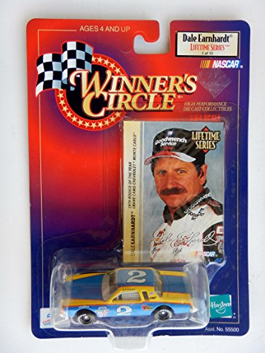 1998 NASCAR Winner's Circle . . . Dale Earnhardt #2 Crane Cams Chevy Monte Carlo 1/64 Diecast . . . Lifetime Series 1 of 13 . . . Includes Collectors Card . . . 1979 Rookie of the Year by Nascar