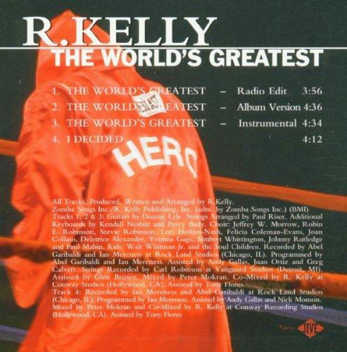 amazon world s greatest r kelly 輸入盤 音楽