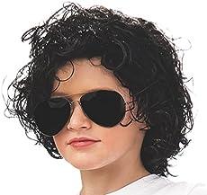 Rubie s Michael Jackson Curly Children s Costume Wig 8103389ada63