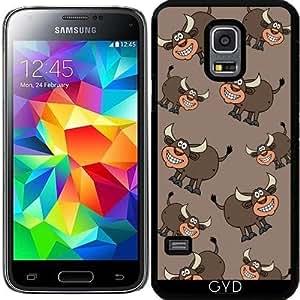 Funda para Samsung Galaxy S5 Mini - Toro Sonriendo by zorg