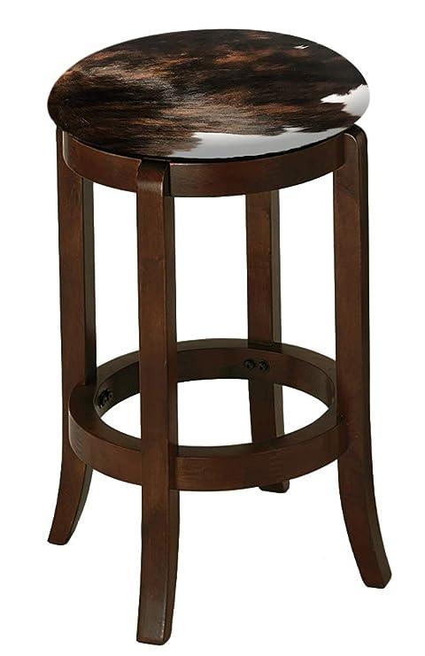 Amazon.com: Taburete de bar de madera de capuchino espresso ...