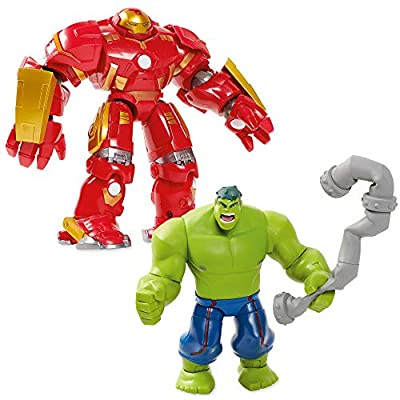 Marvel Hulkbuster Deluxe Action Figure Set Toybox Multi461019640883