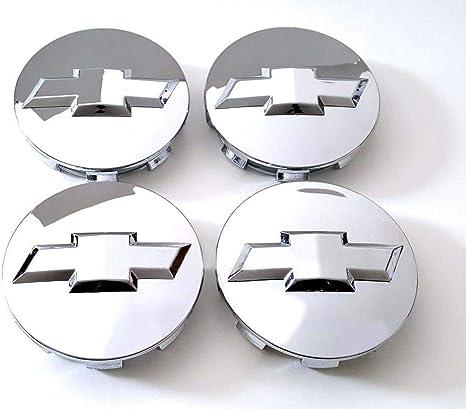 Carhome01 Wheel Center Hub Caps for 2005-2013 Chevrolet, 3.25 Inch Chrome Center Cap Emblem for 18 20 22 Inch Chevy Surburban Silverado Tahoe Wheels ...