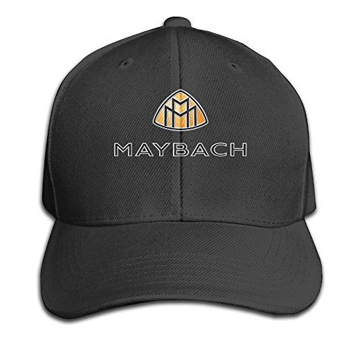 maybach-logo-flat-bill-hat-adjustable-cap-baseball-hat