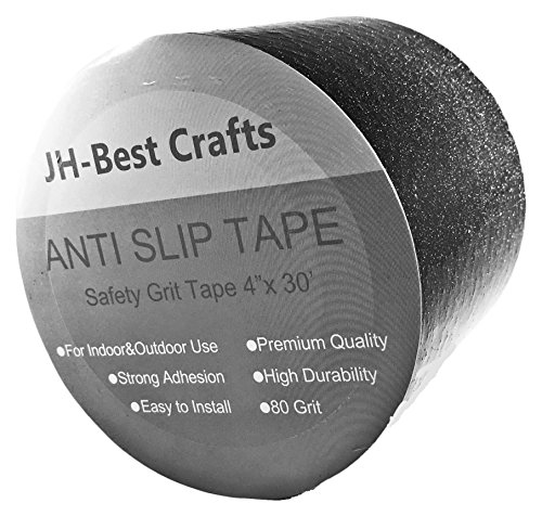Anti-Slip Grip Tape - Non-Slip Weatherproof Indoor or Outdoor, Highest Traction 4-Inch x 30 Feet by JH-Best Crafts (Image #6)