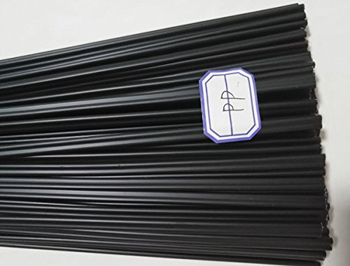 20pcs Black PP Plastic Welding Rods PP Welder Electrode For Car Bumper Car /Car Baffle /Battery Carshell /PP Plastic Water Tank 1pc=19.5 inch (Welding Rod Plastic)
