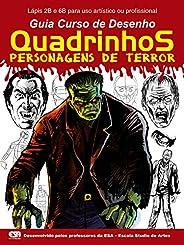 Guia Curso de Desenho Quadrinhos Personagens de Terror