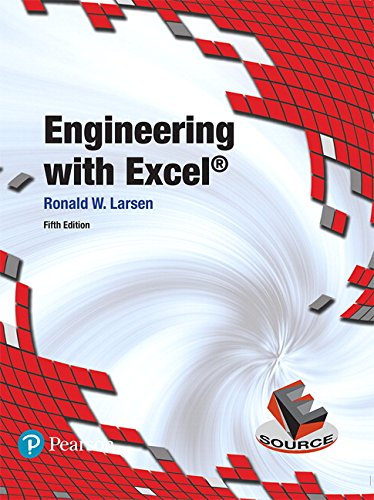 Engineering with Excel (5th Edition)