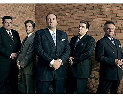 Amazoncom The Sopranos James Gandolfini Cast 16x20 Canvas Giclee