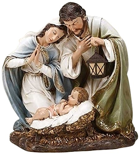 Joseph's Studio by Roman Hand Painted Holy Family Statue, 20-Inch