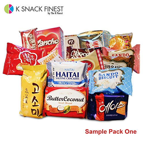 KOREAN PREMIUM SNACK BOX_Assorted Package Popular Deluxe Korean Brand  Snacks and More! Perfect for GIFT | College Care Package | Gift Care  Package (19