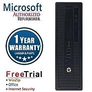 HP EliteDesk 800G1 SFF Intel Core i7 4770 3.2G,8G DDR3,2TB HDD,DVD,WIN10Pro64 (Certified Refurb)