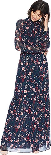 Juicy Couture Women's Spellbound Floral Maxi Dress Regal Spellbond Floral Petite/X-Small -