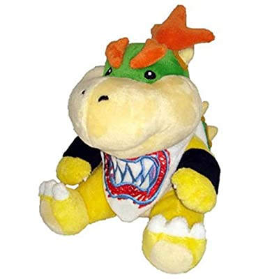 New Super Mario Koopa Bowser Dragon Plush Doll Brothers Bowser JR Soft Plush Toys Gift for Kids Boy Girl 18cm (Dragon): Clothing