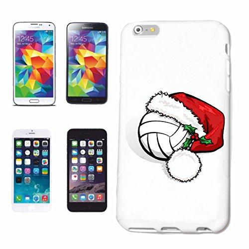 caja del teléfono iPhone 6+ Plus FELIZ NAVIDAD bola del voleibol INTERNACIONAL DE LA NAVIDAD PAPÁ NOEL EQUIPO DE FÚTBOL DE VIDA DE MANERA STREETWEAR HIPHOP SALSA LEGENDARIO Caso duro de la cubierta