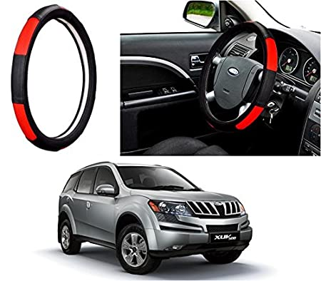 Autopearl Adinox Ring Type Car Steering Wheel Cover for XUV 500