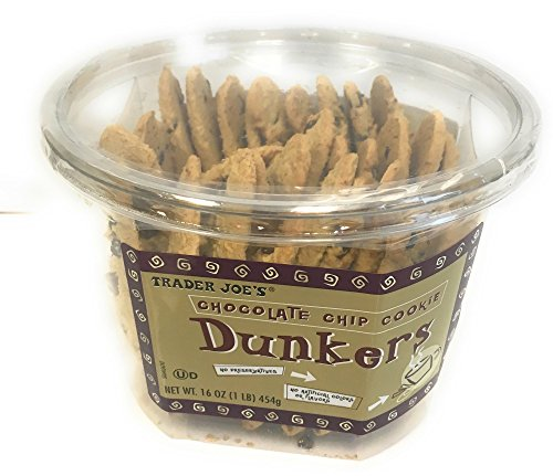 Trader Joes Dunkers Chocolate Container