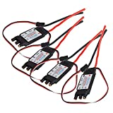 BQLZR 30A SimonK Brushless Speed Controller ESC (with BEC) For RC Quad Multicopter Pack Of 4
