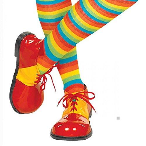 Kids Oversized Clown Shoes (Clown Shoes Costume Shoes Adult Halloween)