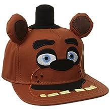 BIOWORLD Five Nights at Freddy's Big Face Plush Snapback Baseball Cap Hat
