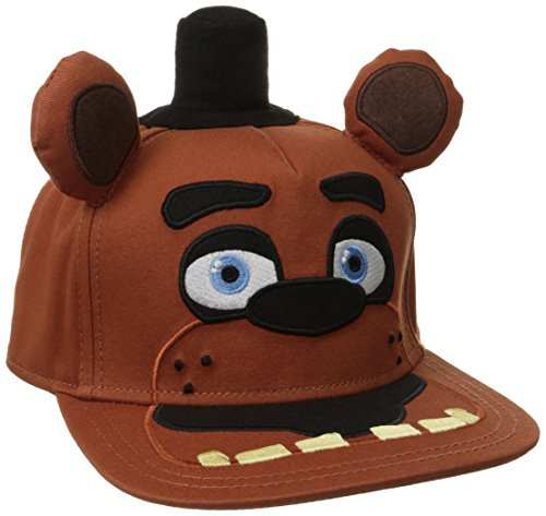 - BIOWORLD Five Nights At Freddy's Big Face Plush Snapback Baseball Cap