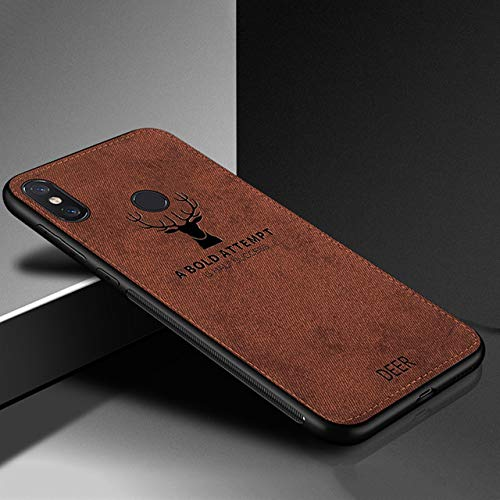 Fitted Cases - Muchi Classic Fabric Case for Xiaomi Redmi Note 6 Pro Cases  Soft Silicone Frame Back Cover for Redmi Note 6 Note6 Pro Mi A2 Lite - by