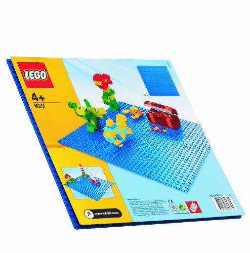 blue lego building plate - 2