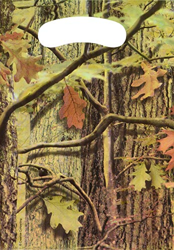 Creative Converting 75676 Hunting Camo Treat Bags Party Supplies, 9