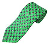 Polo Ralph Lauren Men's Madison Handmade Silk Tie (Green)