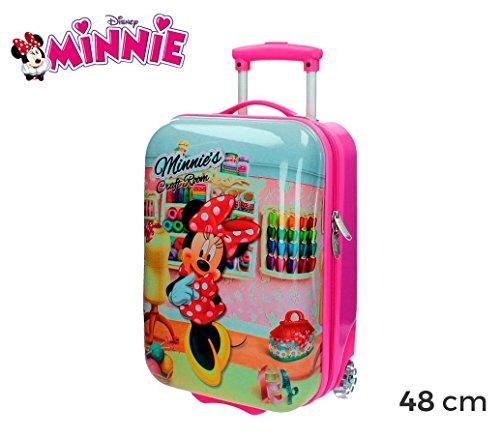 MWS3055 4751151 Trolley de mano en ABS de Minnie Mouse 48x30x18 cm