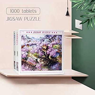 Jigsaw Puzzle 1000 Piece Puzzles for Adults, Cabin in The Winter, Entertainment DIY Puzzles Toys for Gift Adults Family Wall Decorationation Fantasy Puzzles for Adults: Toys & Games
