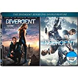 DIVERGENT / INSURGENT 2-Pack DVD Movie Double Feature (Both Divergent Series DVD Movies Together) Shailene Woodley, Kate Winslet, Theo James