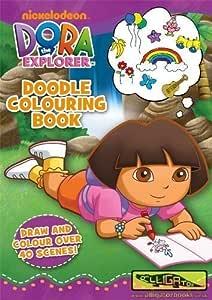 Dora la Exploradora: libro para colorear: Amazon.es