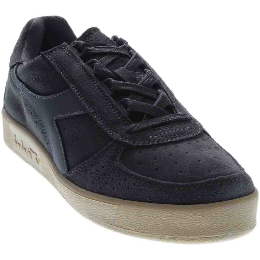 Diadora Unisex B.Elite Suede Steel Gray Athletic Shoe