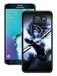Beautiful Samsung Galaxy Note 5 Cover Case ,Newest And Durable Designed Case With mirana art dota 2 Black Samsung Galaxy Note 5 Case Unique And Cool Phone Case
