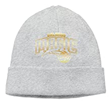 Orlando Magic Gold Logo Beanie Cap
