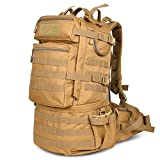 Military Survival Backpack Army Large 50l MOLLE Bug Out Bag Tactical Backpack Waterproof