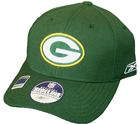 4309e5f074a Image Unavailable. Image not available for. Color  Green Bay Packers Hat ...