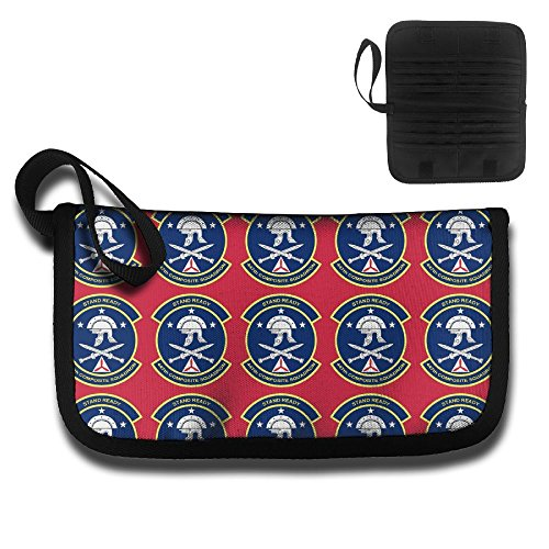 Patrol Oxford - Civil Air Patrol Novelty Unisex Oxford Cloth Multi-Functional Fashion Ticket Passport Credit Card ID Document Organizer Holder Bag Purse Travel Pouch Case Cover