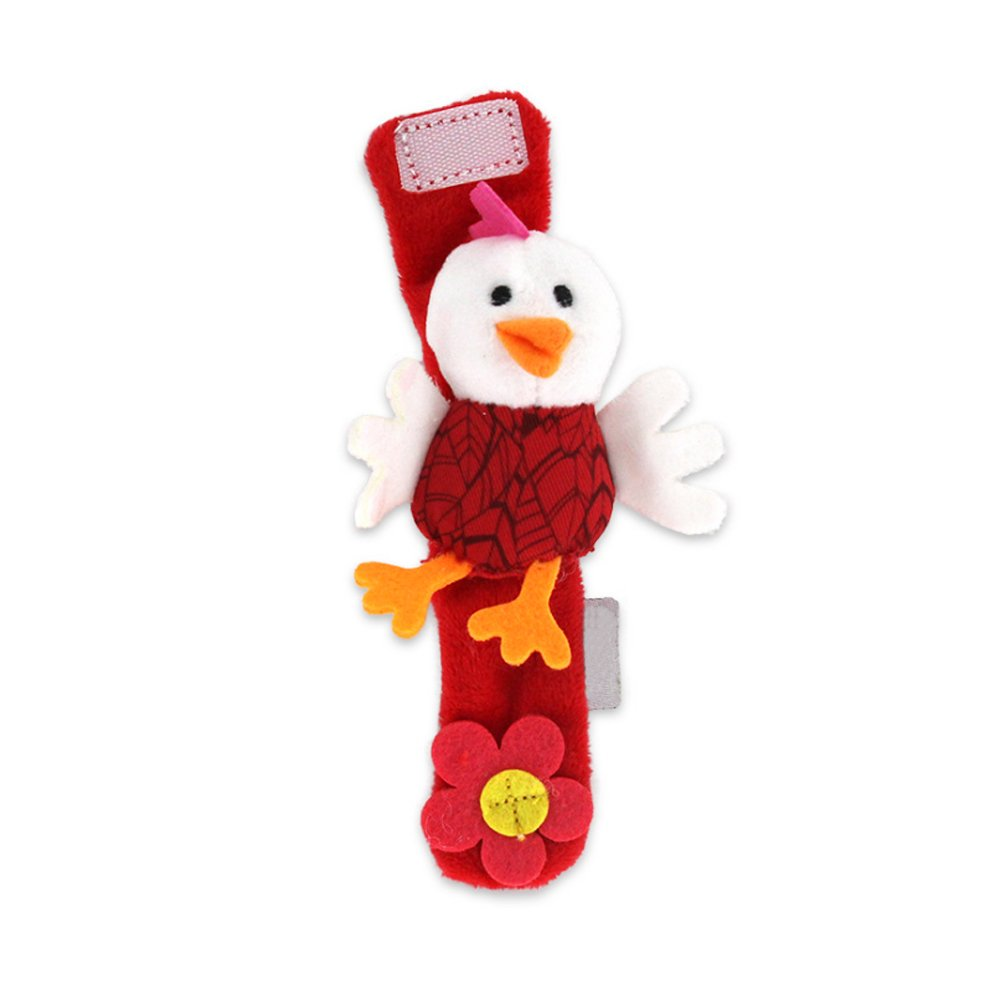KINTRADE 4 St/ücke Montessori Holz Rassel Spielzeug Rassel Glocke Baby Spielzeug Geschenk