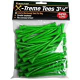 Jef World of Golf Gifts and Gallery, Inc. 3 1/4-Inch Extreme Tee - 50 Pack (Green)