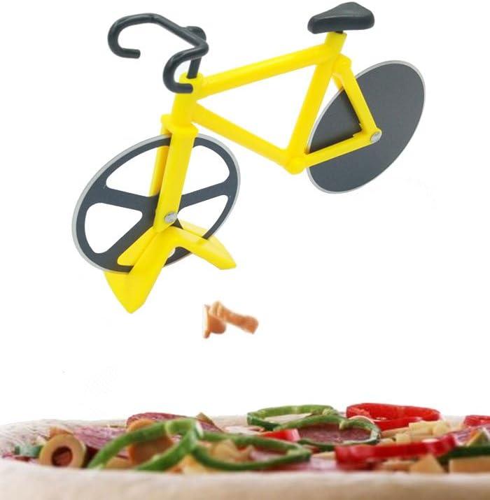 La bicicleta Pizza cuchillo, el cuchillo de rodillo cortador, de ...