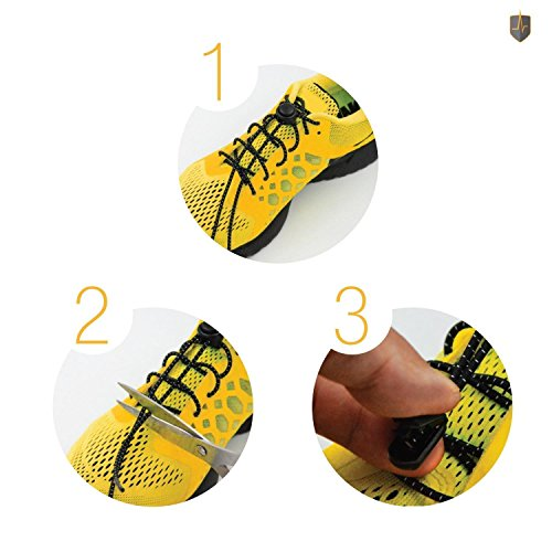 Cordones elásticos niños,Cordones, adulto o niño, muy fácil instalar,conveniente para todas las clases de zapatos: botas, zapatillas de deporte, etc.-1 par / 110cm. Moreno