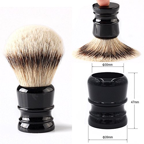 Hercules 100% Pure Badger Shaving Brush- Engineered for the Best Shave of Your Life. All kinds of Badger Brushes for you choose. (First class silvertip 30mm Knot)