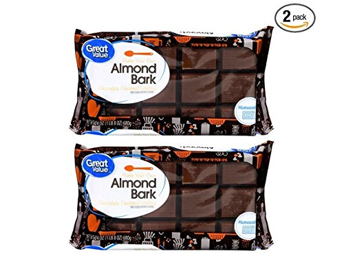 Great Value Chocolate Almond Bark, 24 ounce (2 Pack) ()