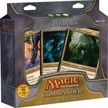 Magic The Gathering - Commander Deck - Counterpunch (Best Premade Commander Deck)