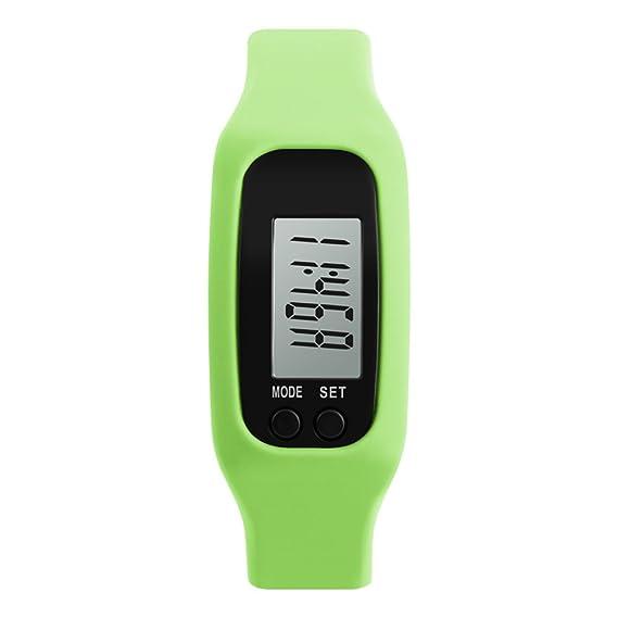 Reloj digital de los niños/ tabla de contador de paso de deportes al aire libre/ reloj de múltiples funciones de la personalidad-D: Amazon.es: Relojes
