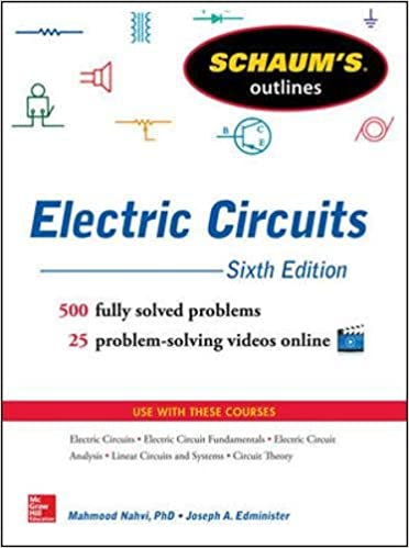 Buy Schaum\'s Outline of Electric Circuits, 6th edition (Schaum\'s ...